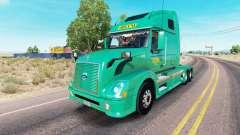 Скин Abilene Express на тягач Volvo VNL 670
