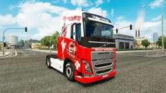 Скин 1. FC Koln на тягач Volvo