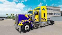 Скин Nevada Custom на тягач Kenworth W900