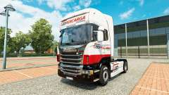 Скин Coopercarga Logistica на тягач Scania