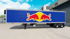 Скин Red Bull на полуприцеп-рефрижератор