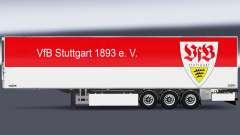 Полуприцеп Chereau VfB Stuttgart