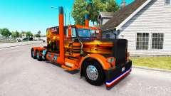 Скин USA Texas на тягач Peterbilt 389