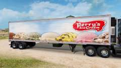 Скин Perrys Ice Cream на полуприцеп-рефрижератор