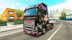 Скин England на тягач Volvo