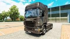 Скин Carbono на тягач Scania