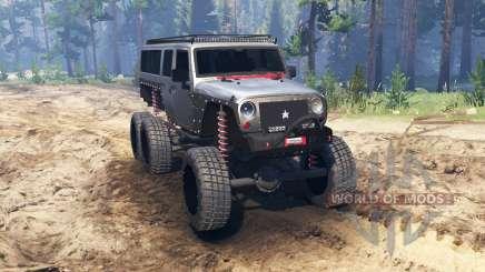 Jeep Wrangler 6x6 [crawler] для Spin Tires