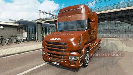 Scania T Longline [Black Amber] для Euro Truck Simulator 2