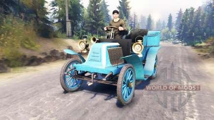 Renault Type G 1902 для Spin Tires
