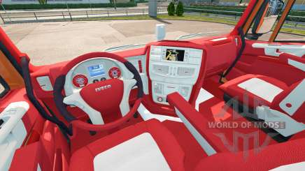 Интерьер Bayern для Iveco Hi-Way для Euro Truck Simulator 2