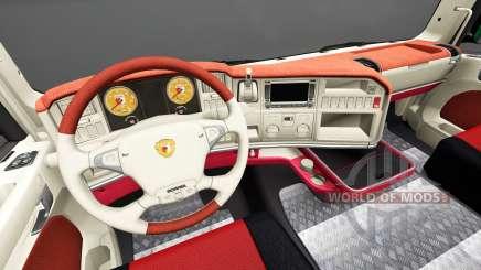 Интерьер FC Augsburg для Scania для Euro Truck Simulator 2