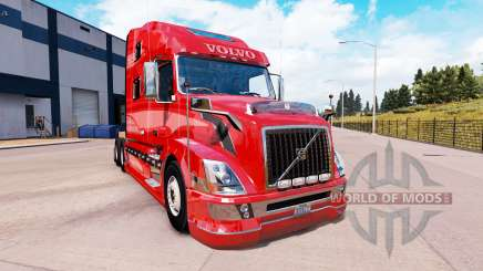 Volvo VNL 670 v2.0 для American Truck Simulator