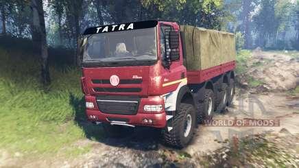 Tatra Phoenix T 158 8x8 v6.0 для Spin Tires