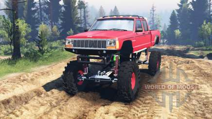 Jeep Grand Cherokee Comanche 4x4 v2.0 для Spin Tires