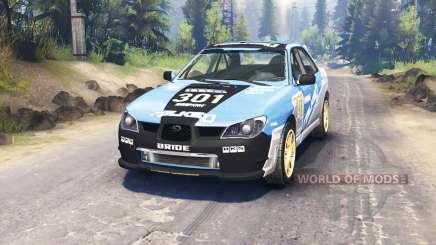 Subaru Impreza WRX 2007 для Spin Tires