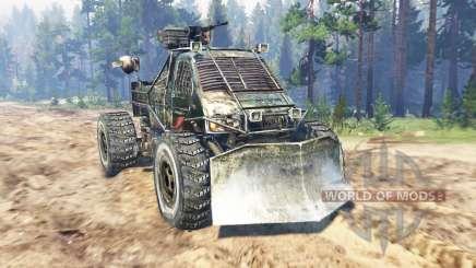 ГАЗ-3302 [Метро 2033] для Spin Tires