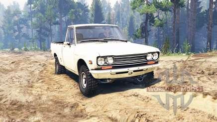 Datsun 510 [pickup] для Spin Tires