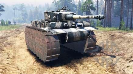 Panzerkampfwagen VI Tiger для Spin Tires