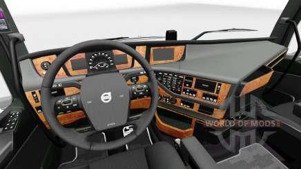 Интерьер Darkline Exclusive для Volvo для Euro Truck Simulator 2