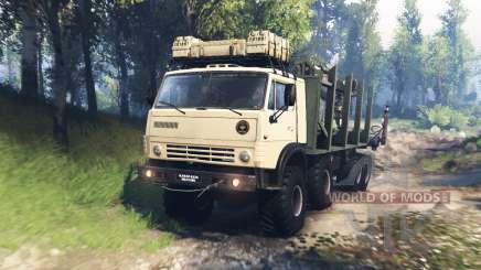 КамАЗ-63501-996 Мустанг v3.0 для Spin Tires