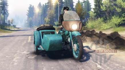 Урал М-62 v2.0 для Spin Tires