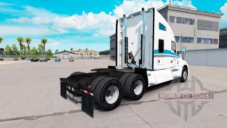 Скин Eskimo Express на тягач Kenworth для American Truck Simulator