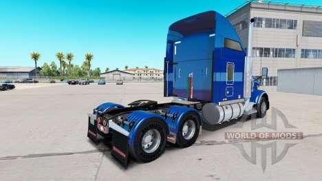 Скин Carlile Trans на тягачи для American Truck Simulator