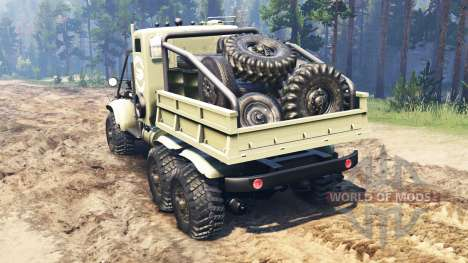КрАЗ-255 В1 Крокодил для Spin Tires