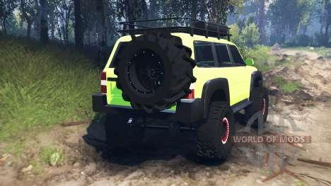 Nissan Patrol v3.0 для Spin Tires