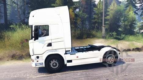 Scania R730 4x4 для Spin Tires