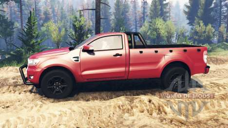 Ford Ranger 2016 v2.0 для Spin Tires
