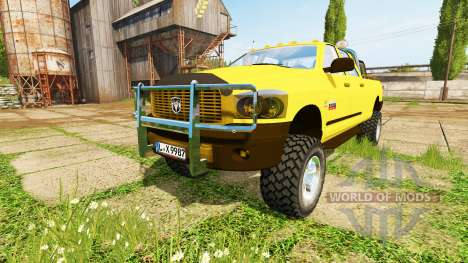 Dodge Ram 2500 Heavy Duty v2.0 для Farming Simulator 2017