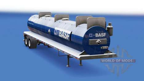 Скин BASF на цистерну для кислот для American Truck Simulator
