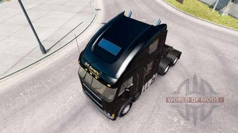 Скин ShR Germany на тягач Freightliner Argosy для American Truck Simulator