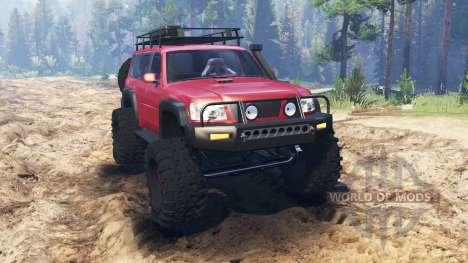 Nissan Patrol для Spin Tires