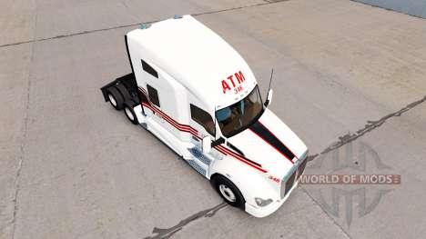 Сборник скинов на тягач Kenworth для American Truck Simulator