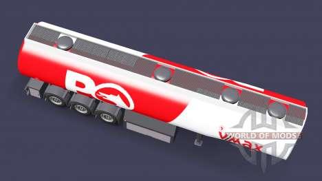 Топливный полуприцеп Petrol Ofisi для Euro Truck Simulator 2