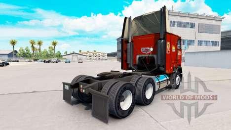Скин PIE на тягач Freightliner FLB для American Truck Simulator