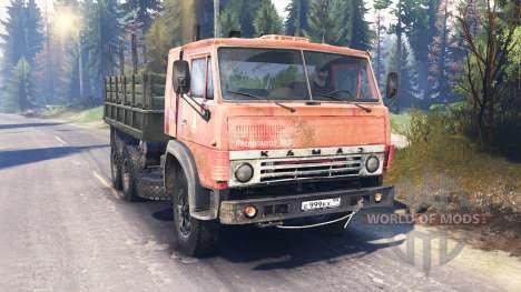 КамАЗ-53212 v2.0 для Spin Tires