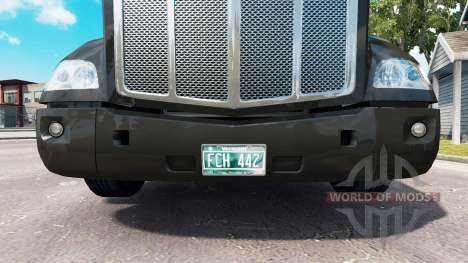 Сборник номерных знаков для American Truck Simulator