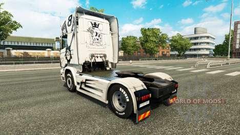 Скин Simply the Best на тягач Scania для Euro Truck Simulator 2