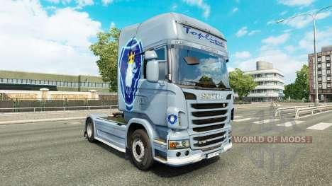 Скин Simply на тягач Scania для Euro Truck Simulator 2