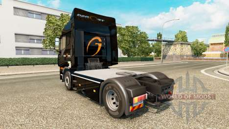 Скин Tegma Logistic на тягач Iveco для Euro Truck Simulator 2