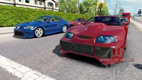 Трафик NFS Most Wanted v2.0 для American Truck Simulator