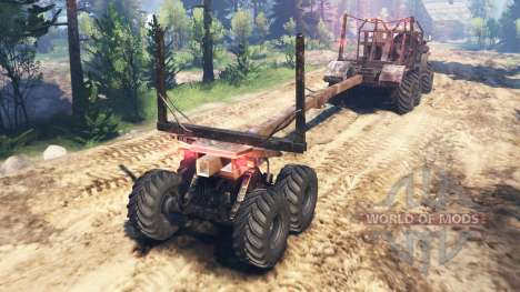 Урал-4320-10 v2.0 для Spin Tires