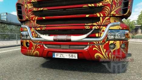 Бычьи рога для Euro Truck Simulator 2