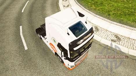 Скин Farm Trans на тягач Volvo для Euro Truck Simulator 2