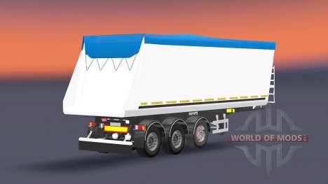 Самосвальный полуприцеп Schmitz Cargobull для Euro Truck Simulator 2