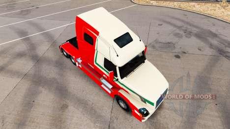 Скин Van den Bosch на тягач Volvo VNL 670 для American Truck Simulator
