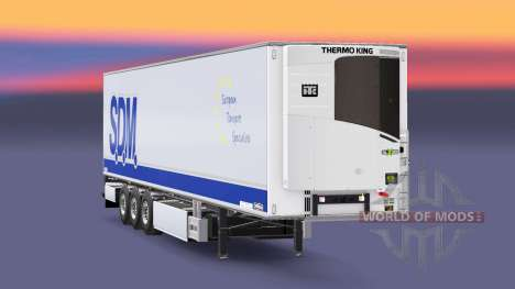 Полуприцеп-рефрижератор Chereau S.D.M. для Euro Truck Simulator 2